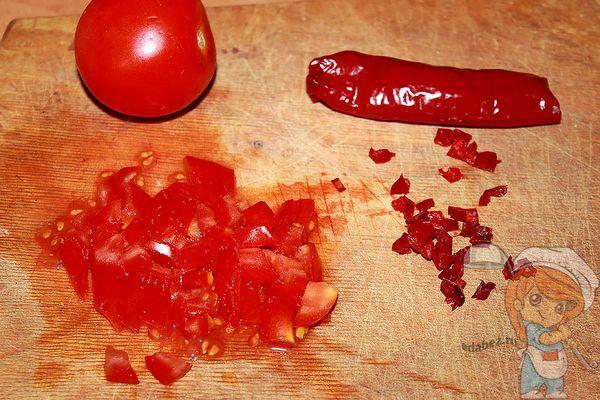 томаты и перец
