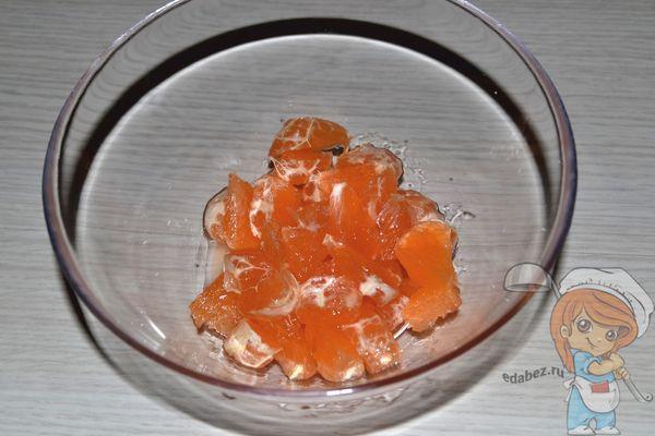 слой грейпфрута