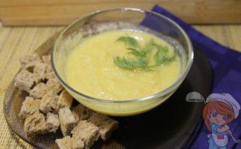 суп пюре из кабачков и цветной капусты