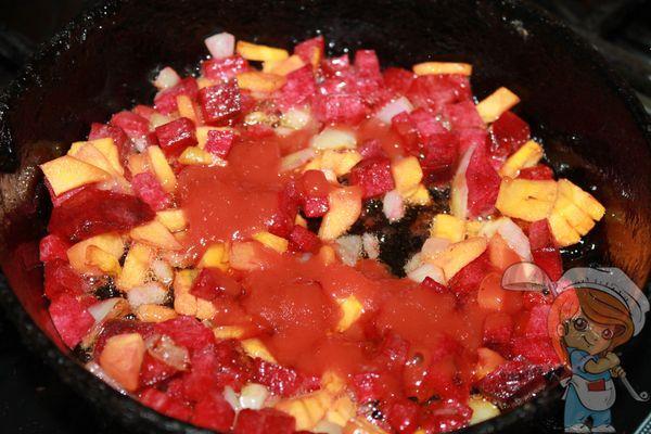 Специи и томатная паста