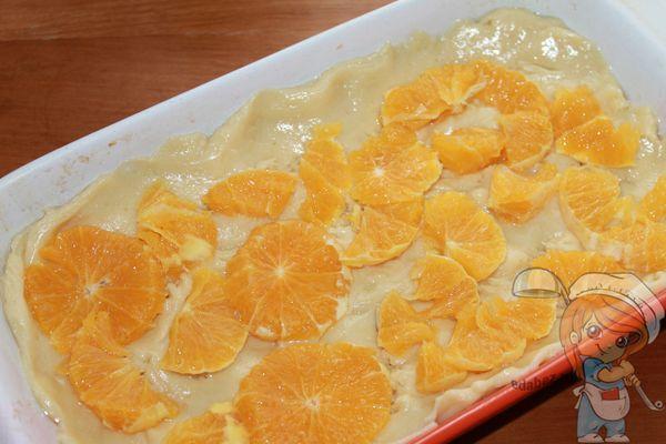 слой апельсинов