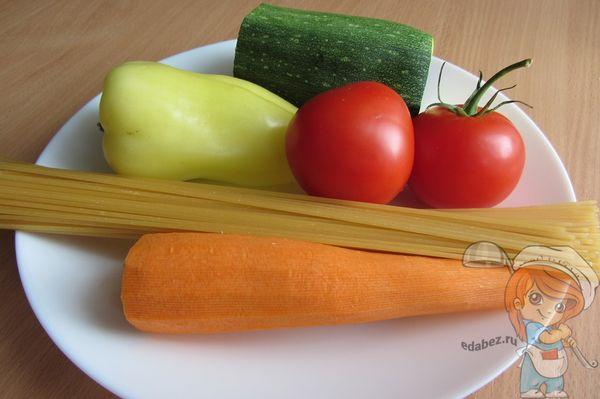 Ингредиенты для кабачкового супа