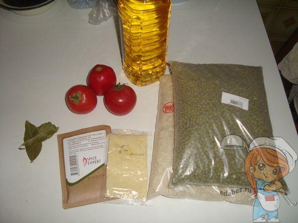 Ингредиенты для кичари
