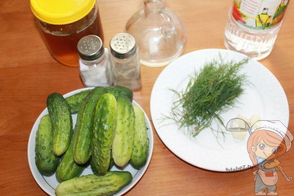 продукты для огурцов с медом