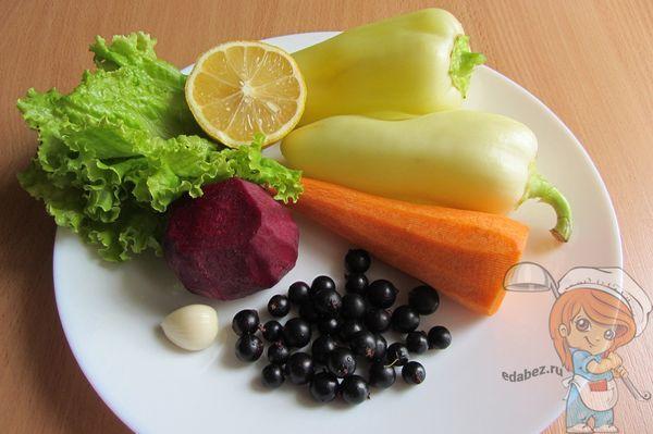 Ингредиенты для фарширования перцев