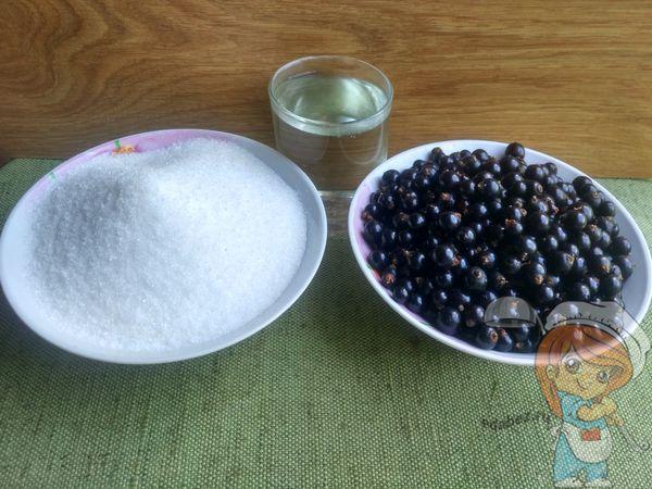Ингредиенты для киевского варенья