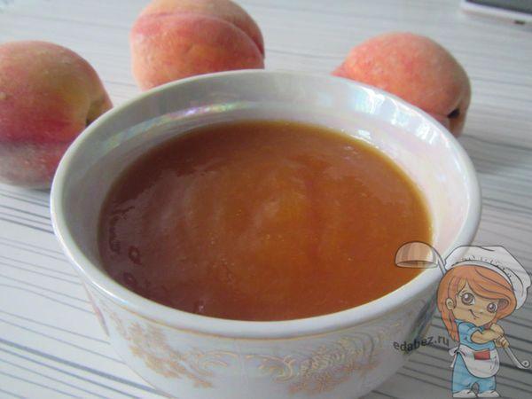 персиковое повидло на зиму