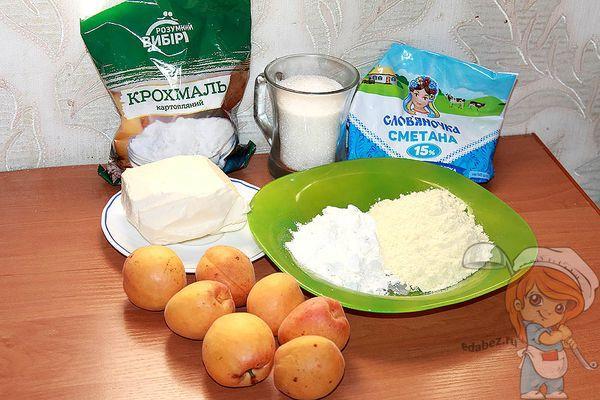 Ингредиенты для открытого пирога