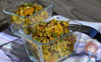 Салат из редьки - рецепт с фото