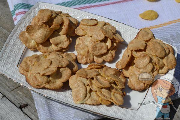 Рецепт печенья из кукурузных хлопьев