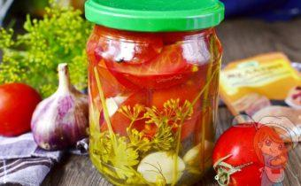 Обалденные помидоры в желе