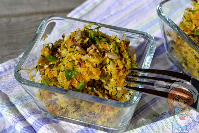 Салат с редькой - очень вкусный