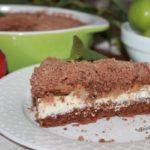 Творожно шоколадный пирог: пошаговый рецепт