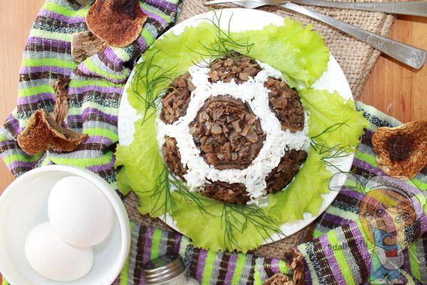 Салат мяч