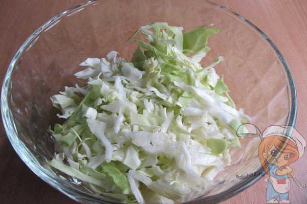 Отправляем в салатник