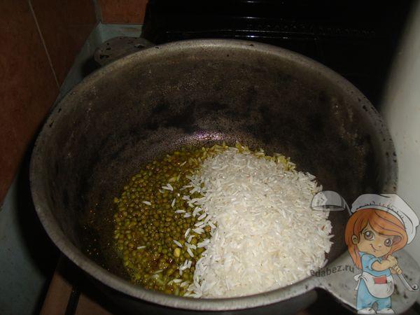 Рис и маш
