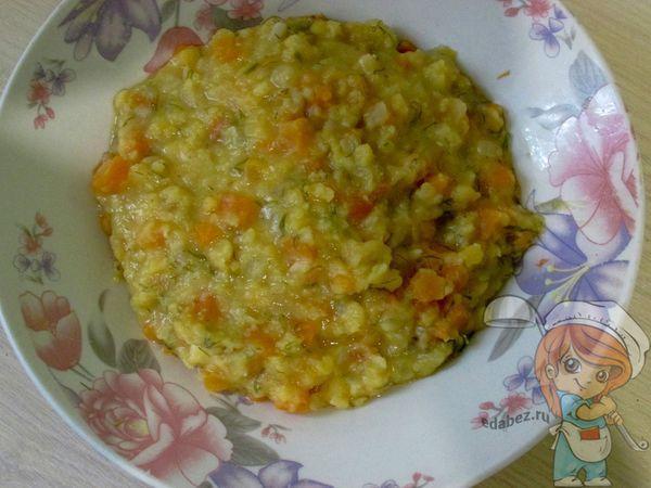 гороховый суп-пюре по-вегански