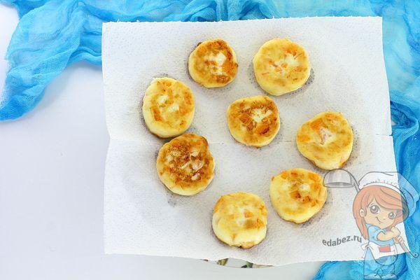 сырники на салфетке