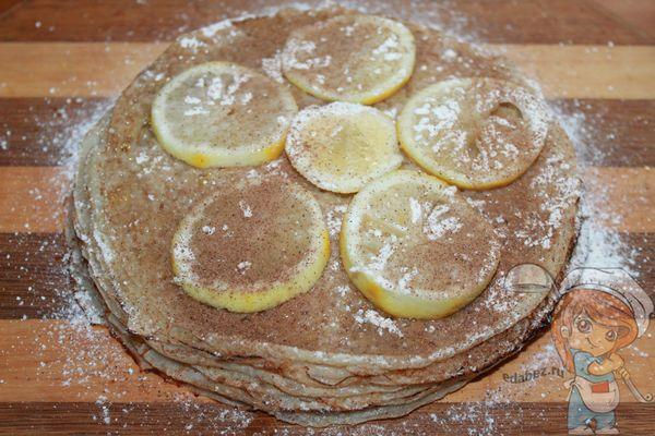 Как приготовить блинный пирог к спасу
