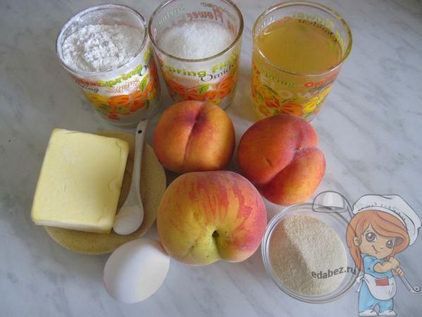 Ингредиенты для приготовления тарта