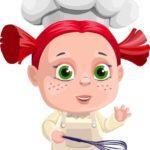 Девочка повар