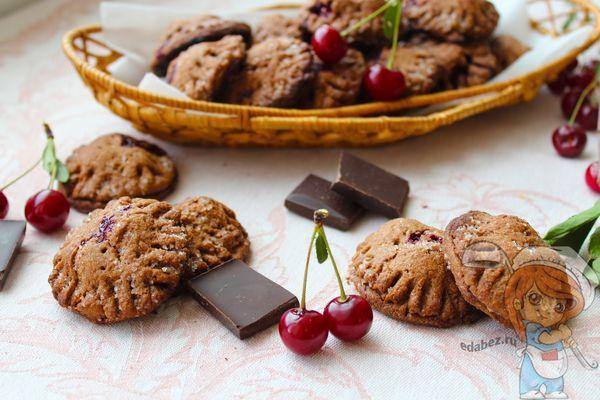 Шоколадное печение