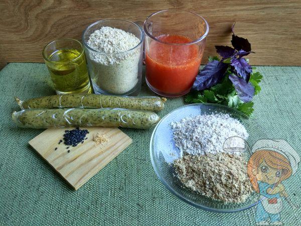 Ингредиенты для веганского омлета