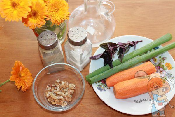 Ингредиенты для полезного салата