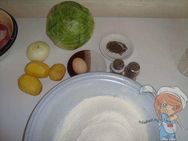 Ингредиенты для узбекского ханума