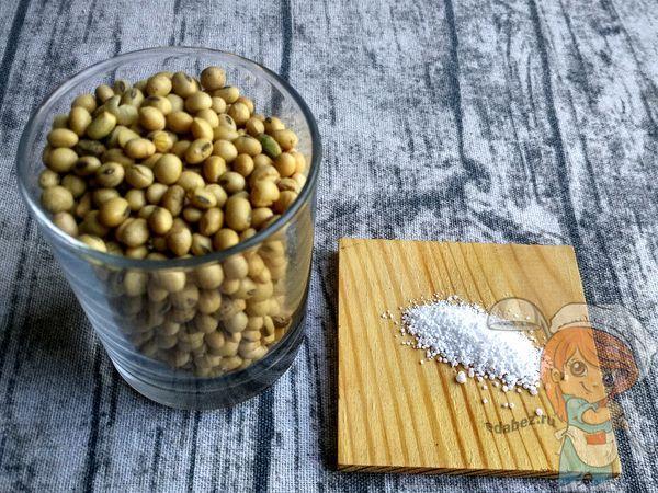 Ингредиенты для приготовления вегетарианской сметаны
