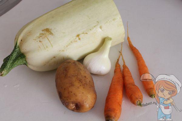 Ингредиенты для приготовления блюда ребенку 7 месяцев