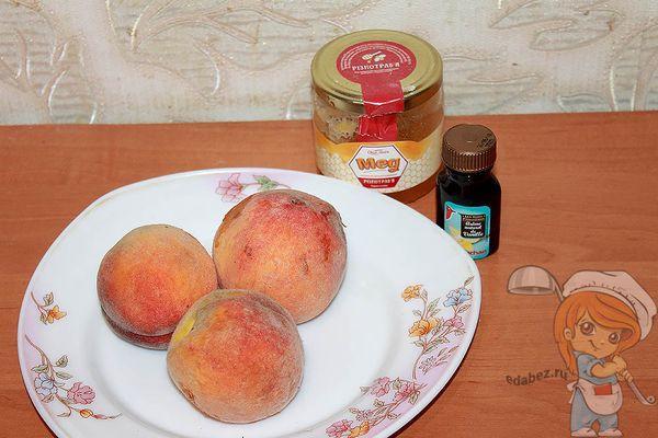 продукты для приготовления джема из персиков