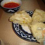 узбекский ханум с картофелем
