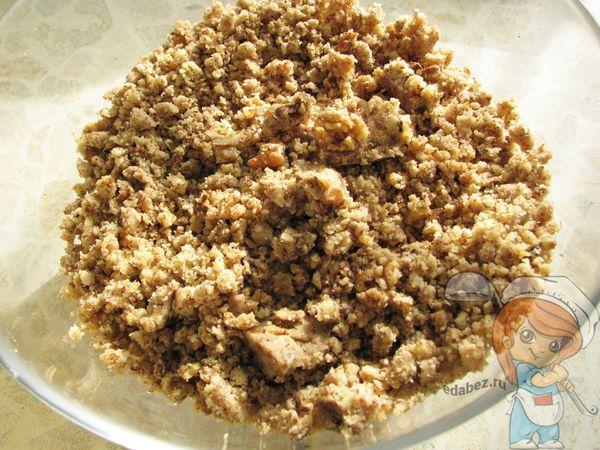 Орехи через мясорубку