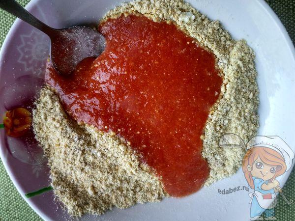 Смесь с томатным соком