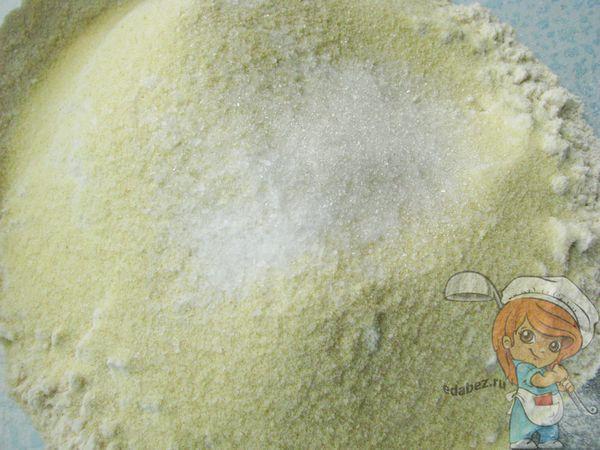Добавляем сахар и соль