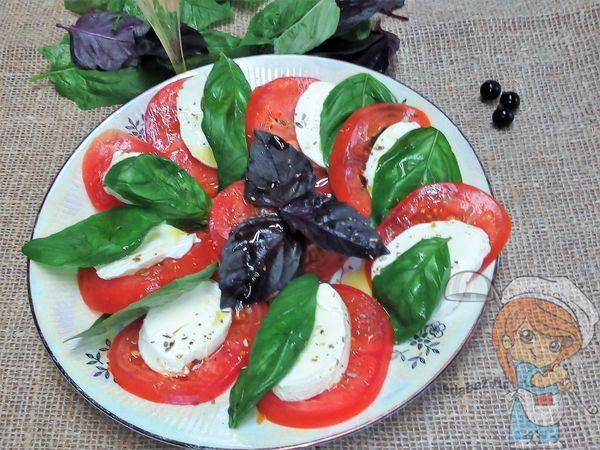 Салат капрезе: рецепт с фото