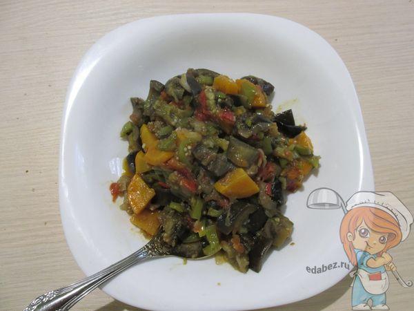 Овощная икра из кабачков