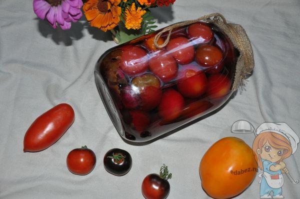 засолка помидоров со свеклой
