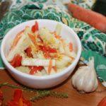 Салат из сырых кабачков по-корейски