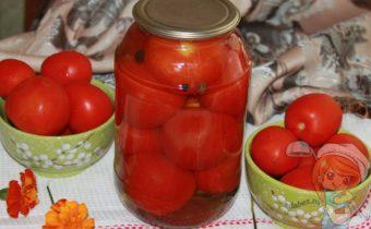 Маринованные помидоры с гвоздикой на зиму