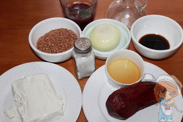 Ингредиенты для гречотто