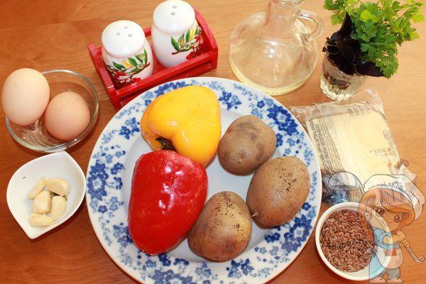 ингредиенты для фаршированных перцев