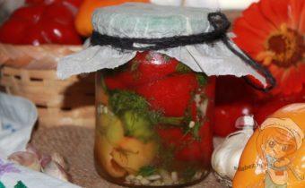 квашеный болгарский перец на зиму рецепт