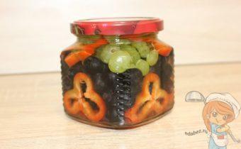 виноград с перцем на зиму
