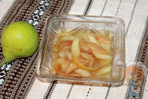грушевое варенье: пошаговый рецепт с фото