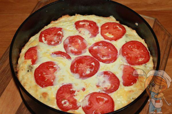 Пирог с помидорами и сыром рецепт