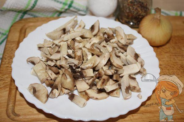 Рубим грибы
