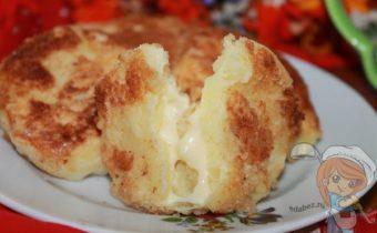 Оладушки из картошки с сыром