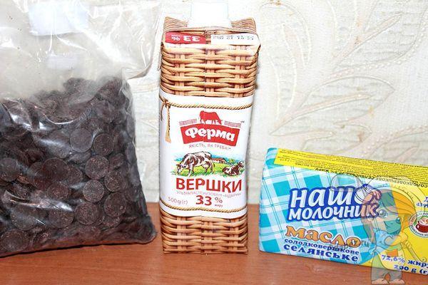 Продукты для глазури